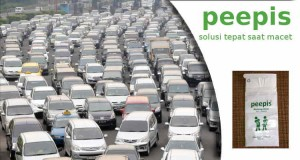 Kantong Pipis Disaat Kemacetan