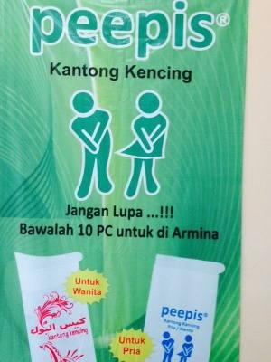 Kantong urin peepis Malang