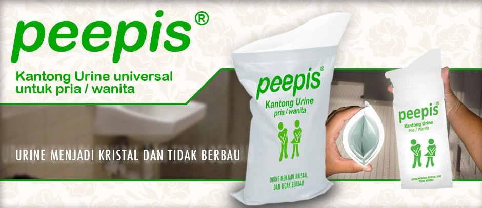 Kantong urin peepis Palembang