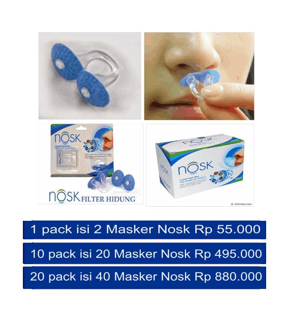 Peralatan kesehatan masker hidung yang inovatif