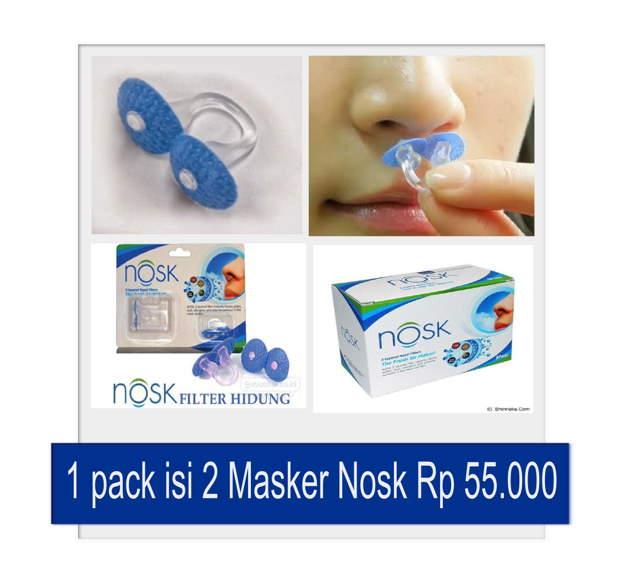 Toko alkes online tentang masker nosk dan pee n pee