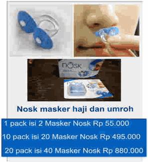 Pusat penjualan alat kesehatan Peepis dan masker nosk