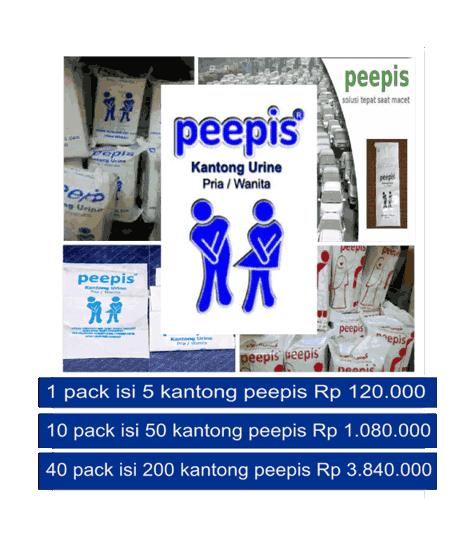 Supplier alat kesehatan di surabaya kantong peepis dan nosk